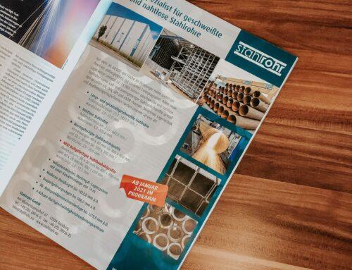 Stahlrohr GmbH, Anzeige